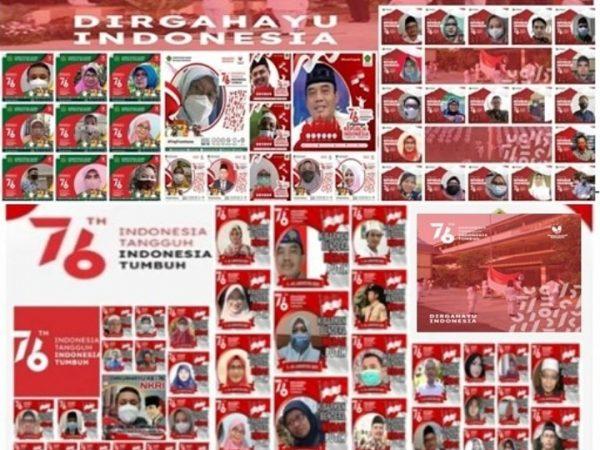 DIRGAHAYU REPUBLIK INDONESIA KE 76 TAHUN (1945 - 2021)